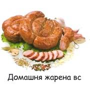Колбаса полукопчёная Домашняя жареная ВС фото