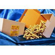 Дюбели WAVE 6х80 mm гриб с ударным шурупом в картонной коробке - ISO 9001 фото
