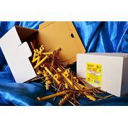 Дюбели WAVE 6х100 mm гриб с ударным шурупом в картонной коробке - ISO 9001 фото