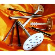 Дюбели для теплоизоляции серии TERMODUBEL 70-220 мм диск 70 мм с тремя видами гвоздей - ISO 9001 фото