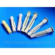 Дюбели узелковые универсальные трехраспорные 7 типоразмеров без бурта и с буртом,типа ЖГУТ фото