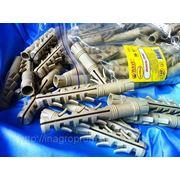 Дюбели ZUBR 14х100 mm упаковка ziplock - ISO 9001 фото