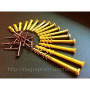 Дюбель-гвозди 6-ая серия гриб и потай от 6х35 до 6х100 mm 16 типоразмеров - ISO 9001, УКРСЕПРО фото