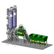Стационарный быстромонтируемый завод Лука СБМ 60 с L-образным конвейером фото