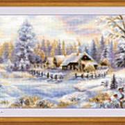 Набор для вышивания Зимний вечер фото