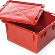 Ящик сплошной 385х385х225 для кондитерских изделий [як-225] фото