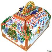 Новогодняя упаковка для кондитерских изделий фото