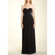 Прокат концертного платья BCBGeneration Black Crinkle Dress фото