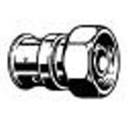 Разъемное соединение с накидной гайкой, бронза. фото
