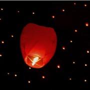 Летающие небесные фонарики: купол, сердце, лилия фото