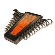 Набор ключей комбинированных 6-19мм сатинированных холдер 10 предметов ЭВРИКА фото