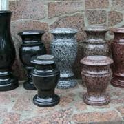 Гранитные вазы балясины шары фото