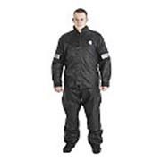 Дождевик черный (куртка, брюки) Titan (Размер XXL) фото