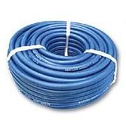 Кислородный шланг 9мм синий фото