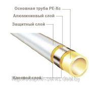 Универсальная многослойная труба PE-Xc\Al\PE фото
