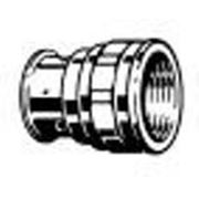 Пресс - соединение с внутренней резьбой, бронза. фото