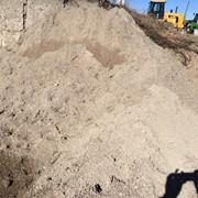 Песок 2 класса природный не мытый, доставка от 1 до 30 тонн фото