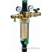 Фильтр промывной с манометром и регулятором давления для гор.воды Honeywell HS10S-1\2AAМ(100мк.) фото