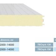 Сэндвич-панель стеновая для холодильников ТБСпу /х 120 ширина 1000 мм фото