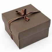 Самосборные картонные коробки фото
