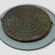 Люк чугунный канализационный магистрального типа тм (d400) 1-59 фото