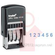 Нумератор TRODAT, ленточный, 6-разрядный, 3,8 мм (45208) фото