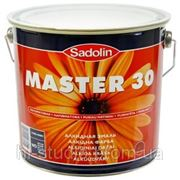 Эмаль алкидная для внутренних и наружных работ MASTER 30, 6x1 л (тонир.база w2) фото
