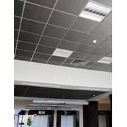 Металлический кассетный потолок Албес фото