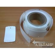 Ярлыки картонные в рулоне (50*85 мм) фото