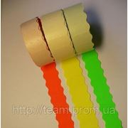 Этикет-лента 26 х 12 цветная, фигурная фото