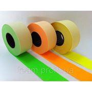 Этикет-лента 26 х 16 цветная, прямоугольная фото