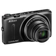 Цифровой фотоаппарат Nikon COOLPIX S9500 Black фото