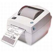 Термотрансферный, Термопринтер, Zebra TLP2844, Этикеточный 104мм, печать штрих-кода фото