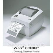 Принтер этикеток Zebra GC 420 D фото