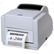 Argox A-200 Настольный термо и термотрансферный принтер этикеток фото