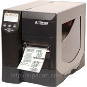 Термотрансферный принтер штрих кода Zebra ZM400 фото
