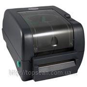 Настольный термотрансферный принтер для печати штрих-кода TSC TTP-345 фото