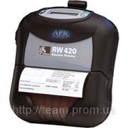 Мобильный термопринтер Zebra RW 420 фото