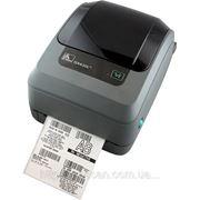 Термотрансферный принтер печати штрих кода Zebra GX430T фото