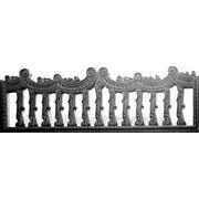Забор железобетонный декоративный плита забора 1-В
