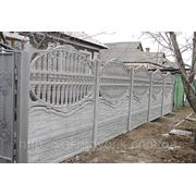 Забор Бетонный фото