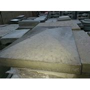 Крышка-плита из бетона 60 х 60 фото