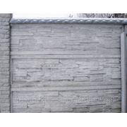 Бетонный забор. Еврозабор. №5. фото