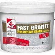 Гранитно-мраморная штукатурка FAST GRANIT, 14 кг фото
