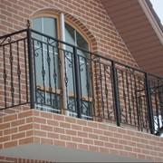 Перила балконные металлические фото