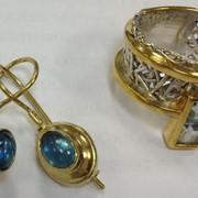 Нанесение золота 585, 750 пробы на любые ювелирные изделия. фото