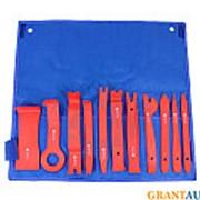 Набор съемников для демонтажа облицовочных панелей 11 предметов ЭВРИКА фото