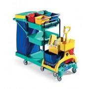Оборудование для уборки,клининговое инвентарь для уборки,тележки ,химия,расходные материалы фото