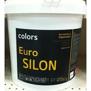 Силиконовая штукатурка Euro Silon, Зерно:1.5мм. 25кг фото