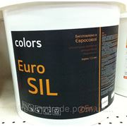 Силикатная штукатурка Euro Sil, Зерно:1,5мм, 25кг фото